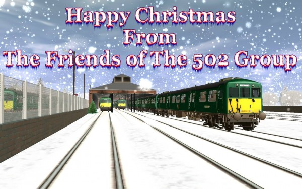 Merry Christmas from Friends of the 502 Group