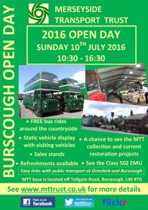 2016 open day poster
