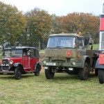 1937 Austin Taxi LL, DLX 214; 1985 Bedford MJ Recovery Truck