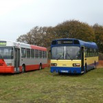 1992 ELC Greenway, SIB 6711 & Leyland National Mk1 single-decker, WHH 556