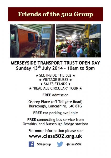 MTT open day poster