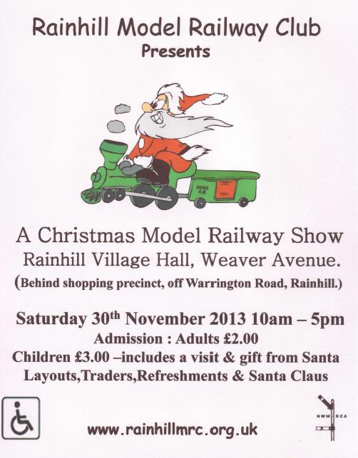 Rainhill MRC Christmas Poster