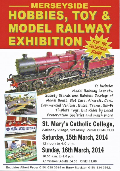 Merseyside Hobbies, Toy & Model Railway Exhibition