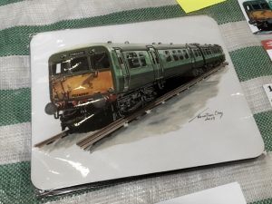 Class 502 Mouse Mat with Jonathan Clay illustration