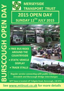 MTT Open Day 2015 Poster