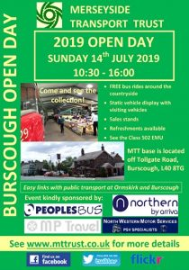 Merseyside Transport Trust Open Day Poster