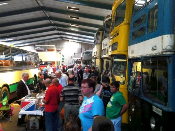 Buses at MTT Open Day