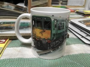 Class 502 Mug with Jonathan Clay illustration