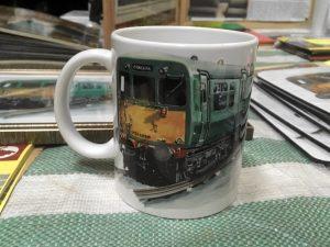 Class 502 Mug with Jonathan Clay illustration