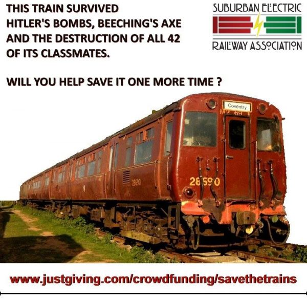 This train survived Hitler's bombs, Beeching's axe, and the destruction of all 42 of its classmates. Will you help save it one more time?