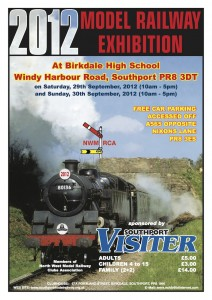 Southport Model Railway Show poster