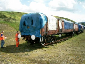 502 with white tyres and buffers